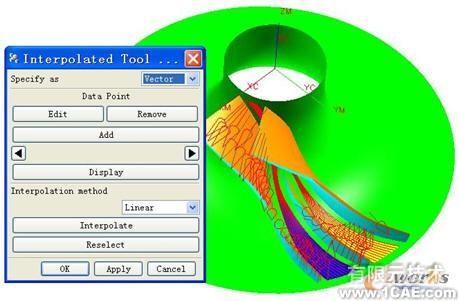 UG NX在离心叶轮流道的数控加工研究应用机械设计培训图片5