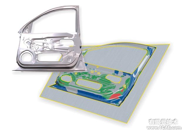 AutoForm培训:高级汽车钣金分析课程有限元分析技术图片3