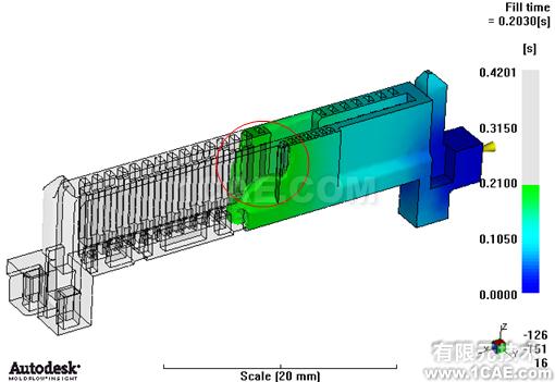 应用Moldflow对连接器产品进行模拟仿真案例+应用技术图片8