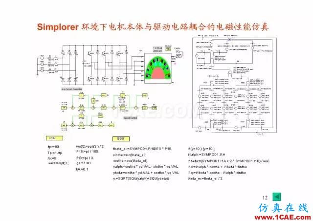 【PPT分享】新能源汽车永磁电机是怎样设计的?Maxwell培训教程图片11