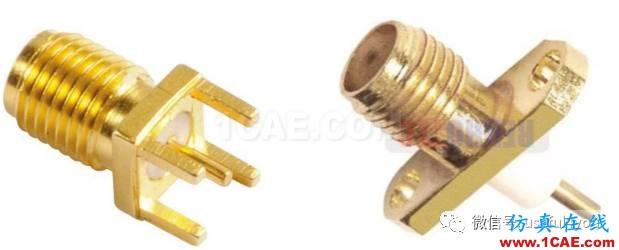 同轴转PCB免焊接连接器(附119M产品资料和应用手册)【转发】ansys hfss图片1