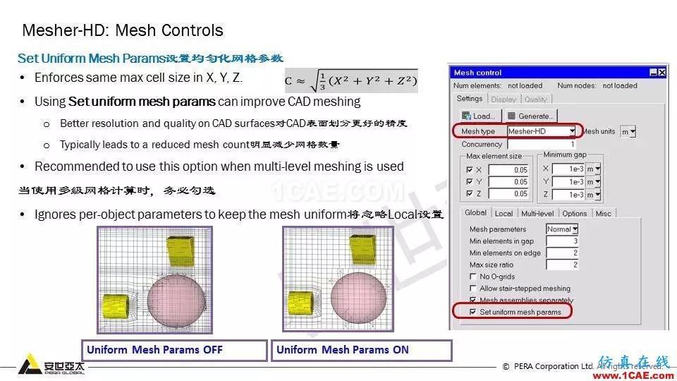 教程 | Icepak复杂几何体的网格策略【转发】icepak分析案例图片5
