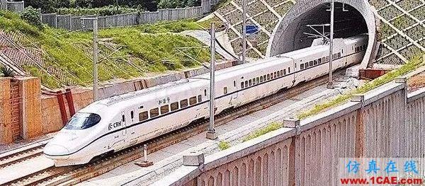 高铁为什么长这样?不是跑得快,而是飞得低【转发】fluent分析案例图片4