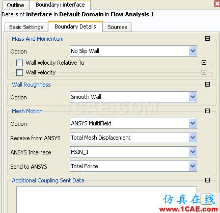 CFX流固耦合FSI分析cfx分析案例图片22