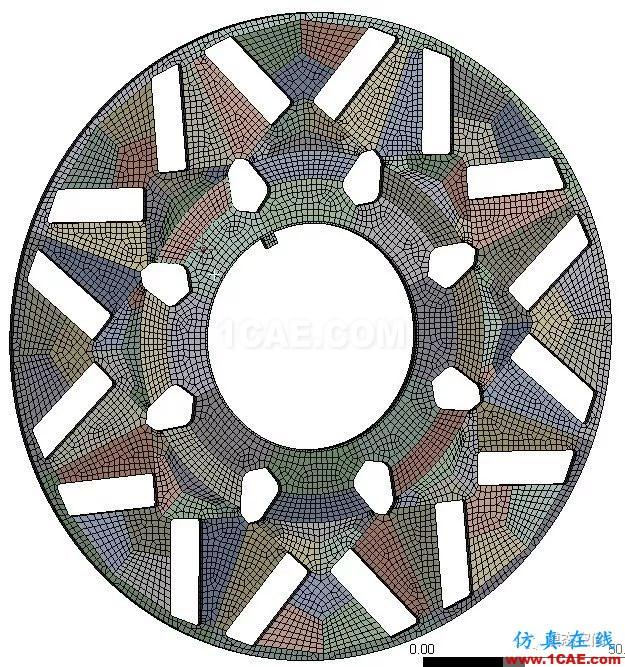 实例操作|新能源汽车用永磁电机转子的全砖形单元划分方法Maxwell应用技术图片31