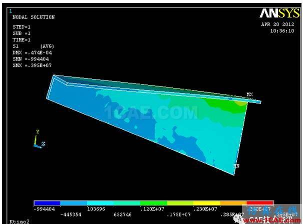 空调支架的有限元分析ansys workbanch图片14