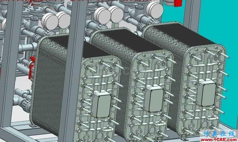【工程机械】EDI超纯水系统处理设备3D模型 UG(NX)设计下载ug模具设计技术图片2