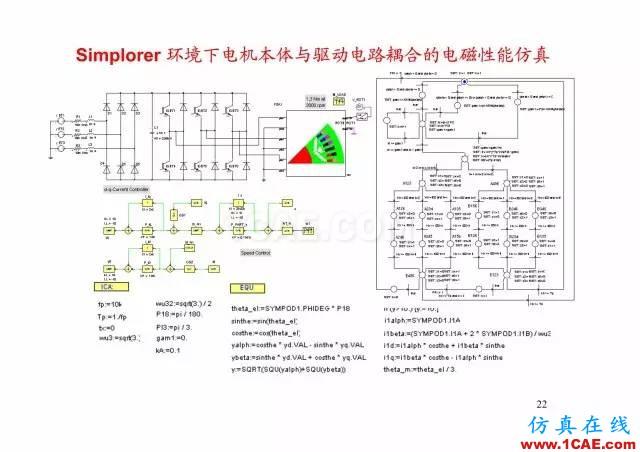 【PPT分享】新能源汽车永磁电机是怎样设计的?Maxwell学习资料图片21