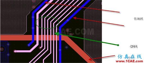 """作为一名合格的PCB设计工程师,你一定要了解""""跨分割""""ansys培训的效果图片4"""