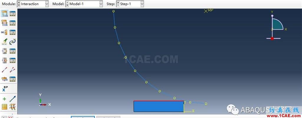 ABAQUS案例的Abaqus/CAE再现—厚板辊压abaqus有限元分析案例图片37