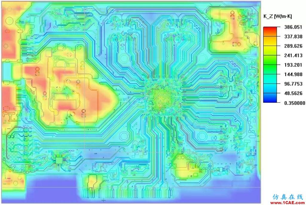CFD热分析案例、PCB综合分析案例+有限元仿真分析相关图片4