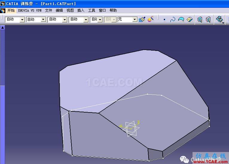 Catia零件建模全过程详解Catia仿真分析图片27
