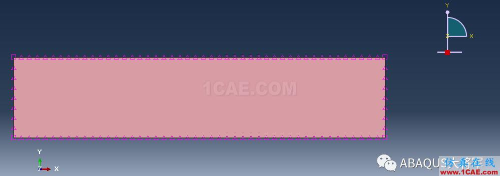 ABAQUS案例的Abaqus/CAE再现—厚板辊压abaqus有限元分析案例图片51