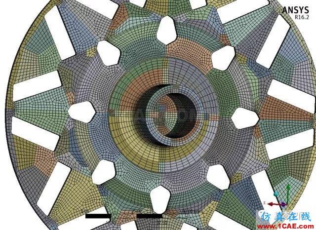 实例操作|新能源汽车用永磁电机转子的全砖形单元划分方法Maxwell分析图片53