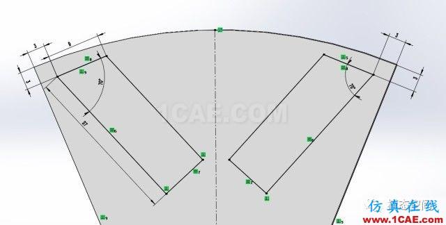 实例操作|新能源汽车用永磁电机转子的全砖形单元划分方法Maxwell学习资料图片4