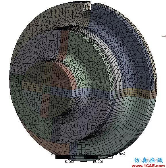 实例操作|新能源汽车用永磁电机转子的全砖形单元划分方法Maxwell技术图片43
