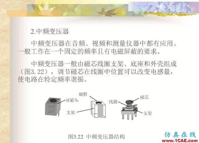 最全面的电子元器件基础知识(324页)HFSS培训的效果图片148