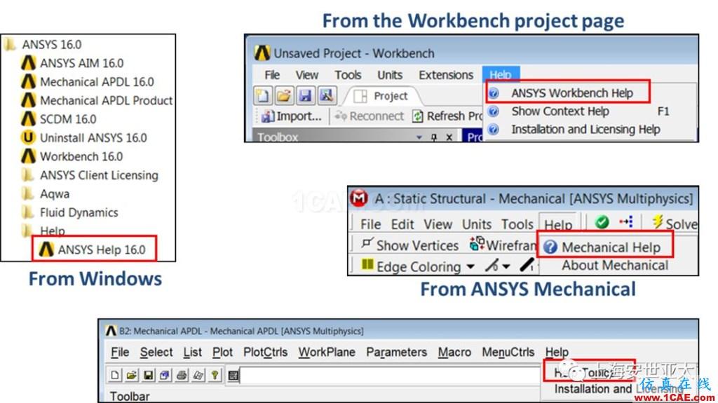 技术分享 | APDL在ANSYS WORKBENCH MECHANICAL中的应用概述ansys培训的效果图片2