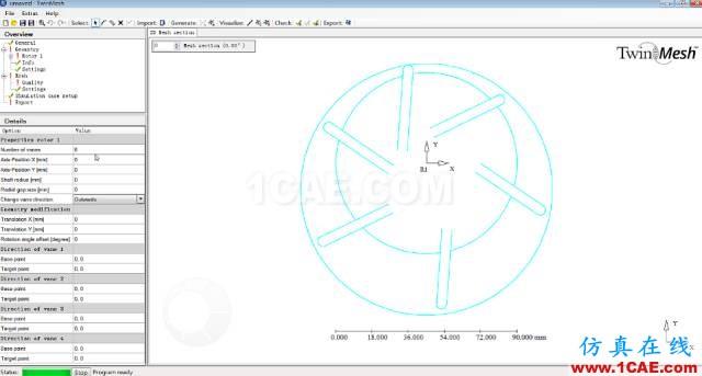 技术分享 | TwinMesh叶片泵流场仿真fluent分析图片2