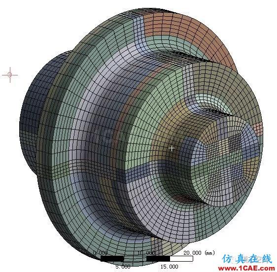 实例操作|新能源汽车用永磁电机转子的全砖形单元划分方法Maxwell培训教程图片47
