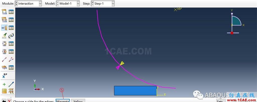 ABAQUS案例的Abaqus/CAE再现—厚板辊压abaqus有限元仿真图片29