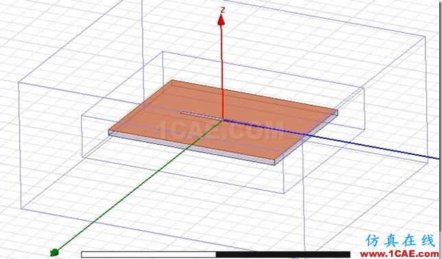 Gap Feed Plannar Slot Antenna by ADK_5.8GHz