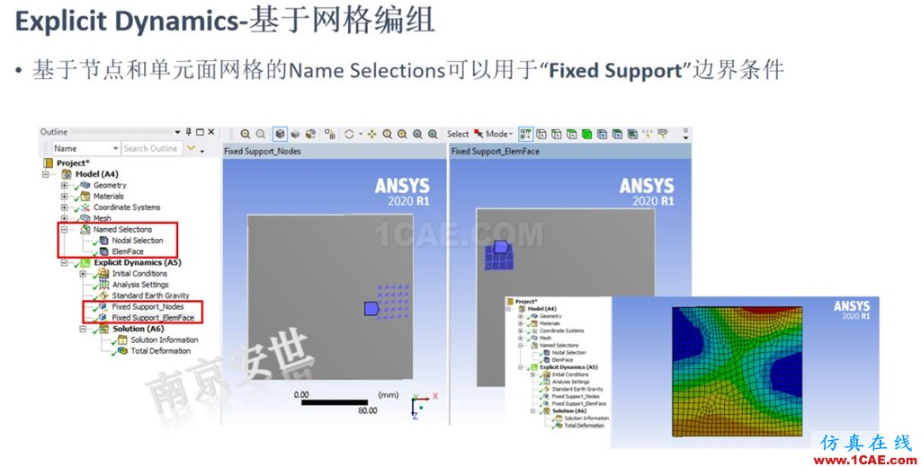 ANSYS 2020R1来了 | 结构新功能(二)ansys培训课程图片19