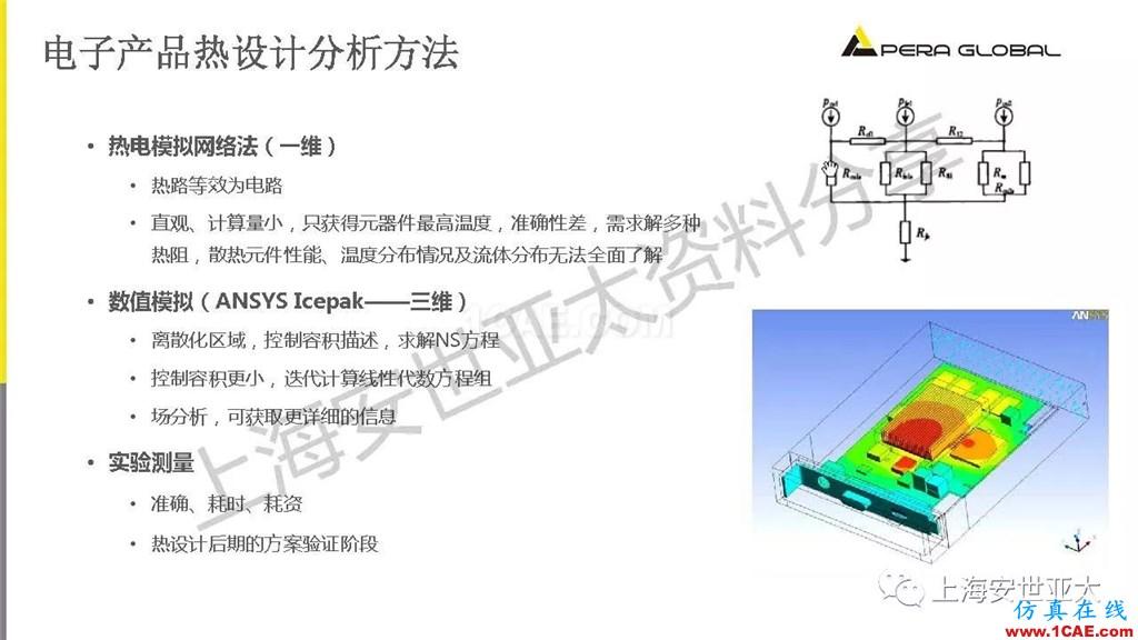 技术分享 | 电子系统散热设计分析与优化icepak学习资料图片9