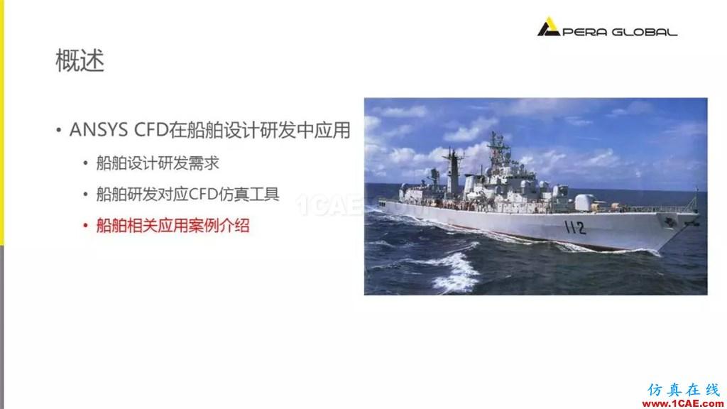 国产航母海试在即,从船舶相关Fluent流体分析看门道fluent培训课程图片19