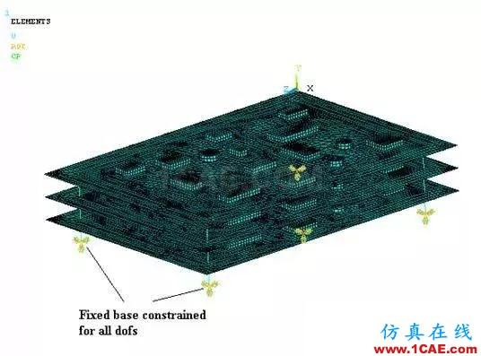 基于模态叠加法的印制电路板组件动力学分析ansys结构分析图片2