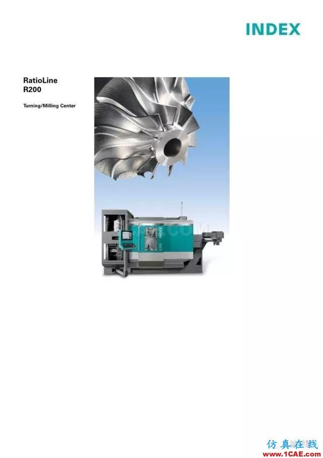 【收藏】德国INDEX R200 加工中心,酷的要死的节奏!【转发】机械设计图片1
