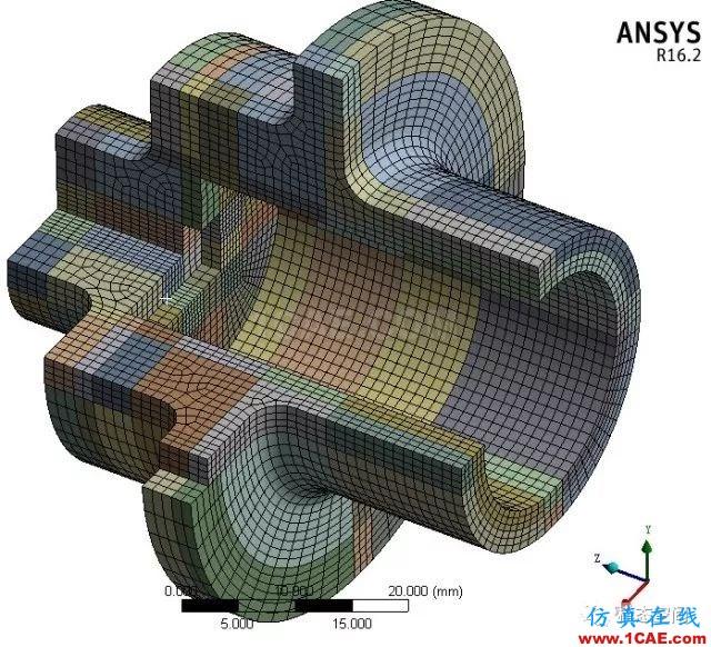 实例操作|新能源汽车用永磁电机转子的全砖形单元划分方法Maxwell培训教程图片48