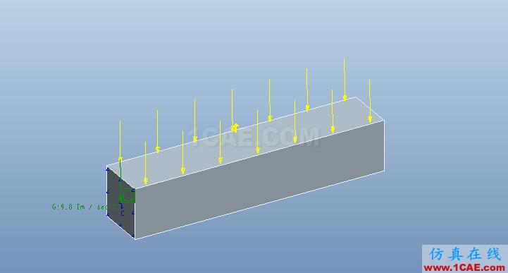 Proe Mechanica有限元分析入门pro/e产品设计图片10