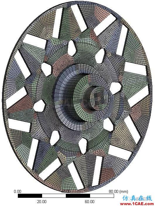实例操作|新能源汽车用永磁电机转子的全砖形单元划分方法Maxwell分析图片52