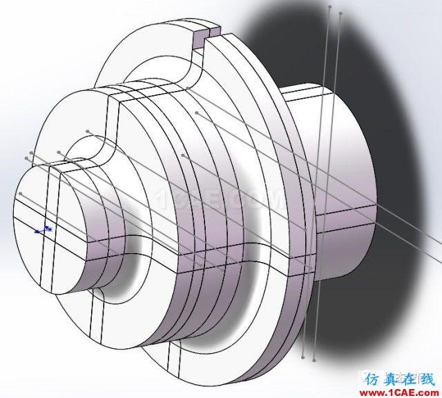实例操作|新能源汽车用永磁电机转子的全砖形单元划分方法Maxwell分析案例图片40