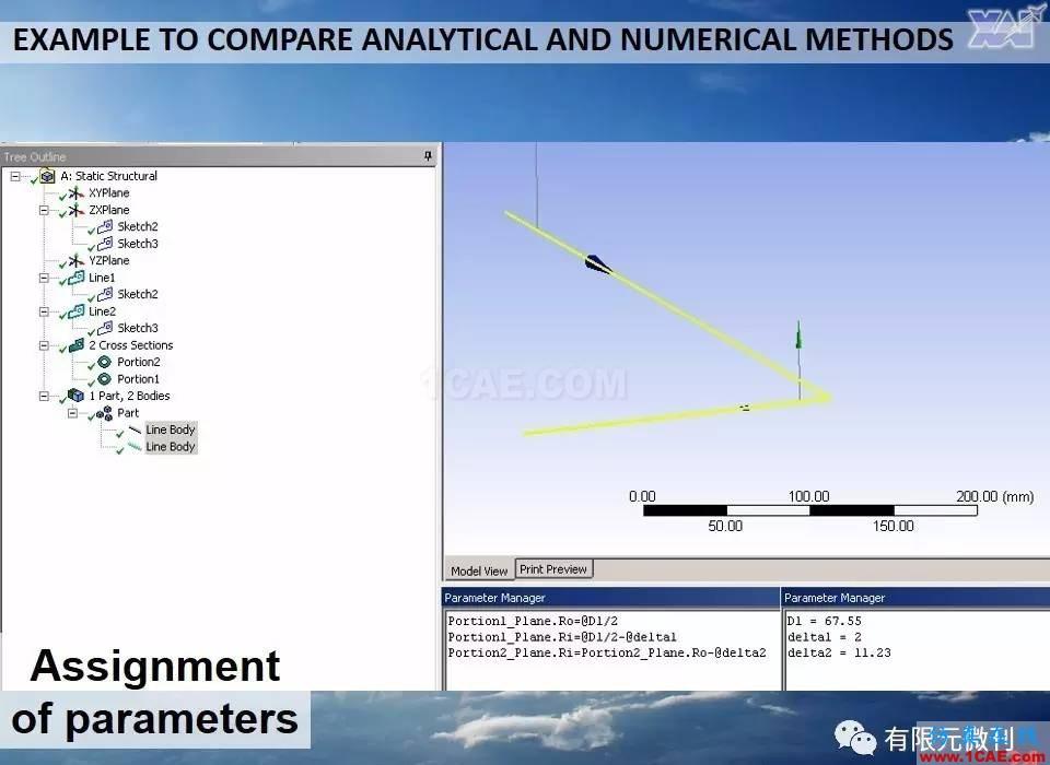 航空结构分析(结构力学)系列---7(有限元分析)ansys workbanch图片24