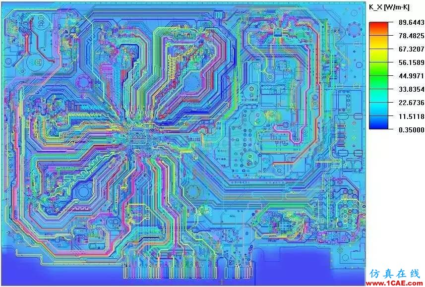 CFD热分析案例、PCB综合分析案例+有限元仿真分析相关图片1