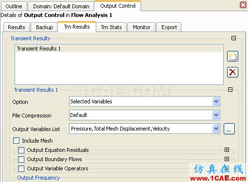 CFX流固耦合FSI分析cfx培训的效果图片31