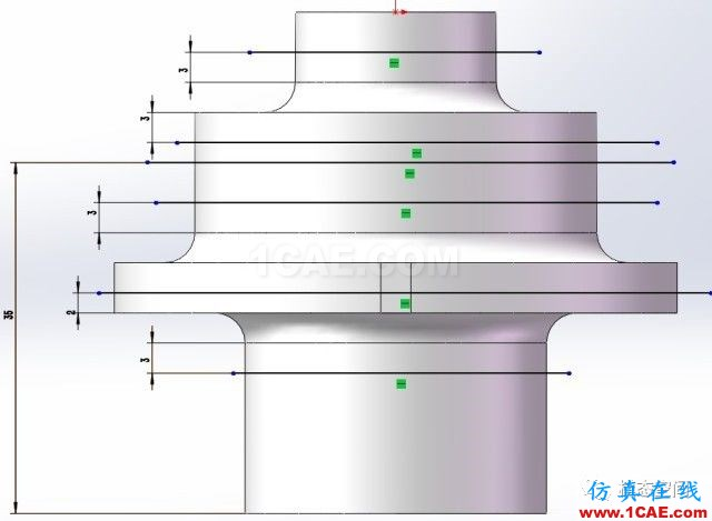 实例操作|新能源汽车用永磁电机转子的全砖形单元划分方法Maxwell分析案例图片39