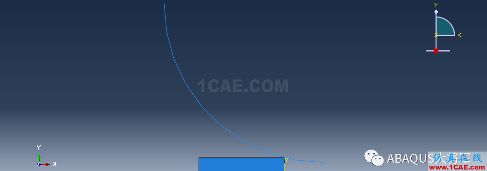 ABAQUS案例的Abaqus/CAE再现—厚板辊压abaqus静态分析图片23