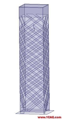 一种方形宽波束四臂螺旋天线的设计HFSS分析图片3