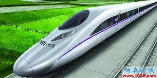 高铁为什么长这样?不是跑得快,而是飞得低【转发】fluent结果图片9