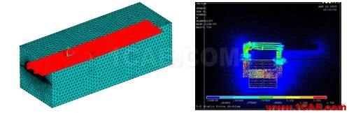 CAE仿真技术在轨道交通上的应用ansys分析案例图片4