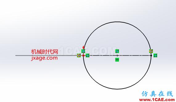 SolidWorks如何通过扫描创建太极图?solidworks simulation学习资料图片3