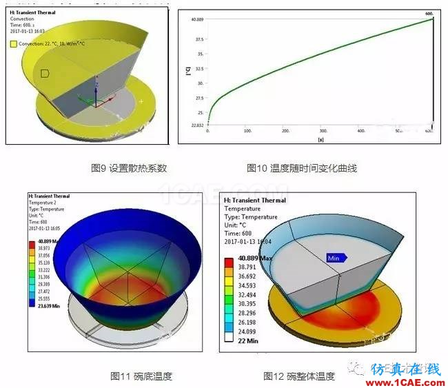 电磁炉加热水分析—电磁 热 结构耦合分析Maxwell分析案例图片6