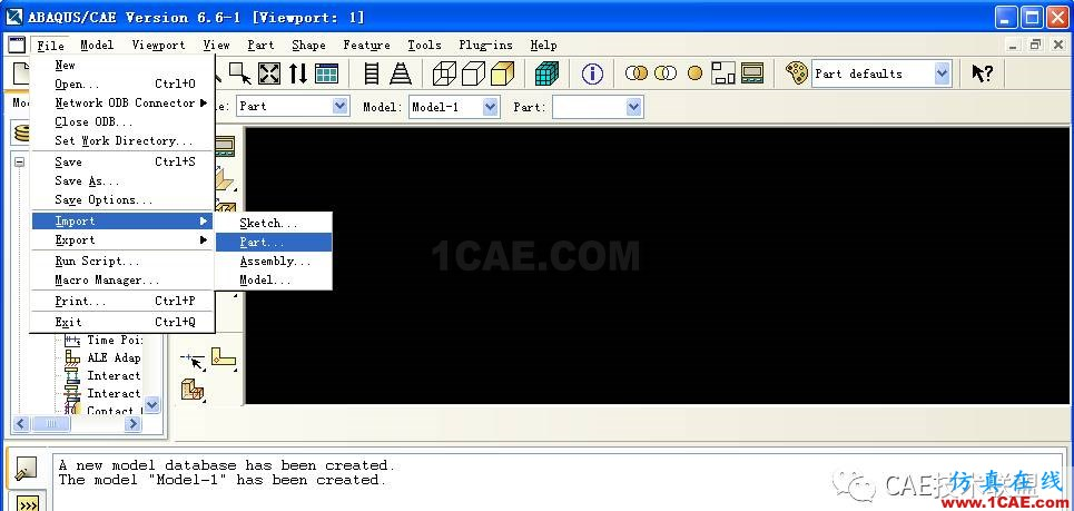 ABAQUS应用例子-有扭矩的曲轴有限元分析abaqus有限元培训教程图片2