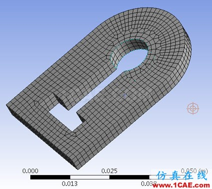 ansys workbench中Meshing建立virtual topology的作用ansys培训的效果图片8