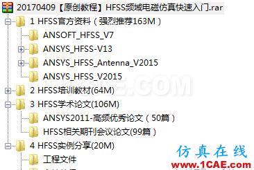 【原创教程】HFSS频域电磁仿真快速入门(附307M学习资料)HFSS培训的效果图片18