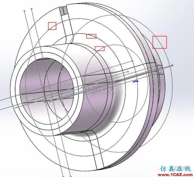 实例操作|新能源汽车用永磁电机转子的全砖形单元划分方法Maxwell技术图片44