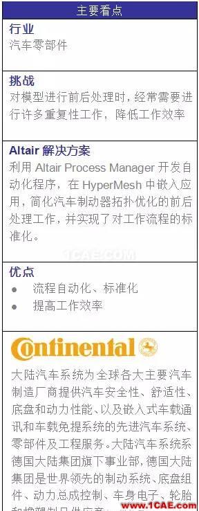 Process Manager在汽车制动器 设计优化中的应用hypermesh应用技术图片1